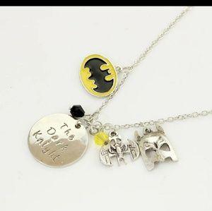 Batman Charm Necklace